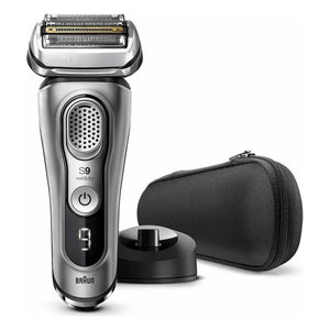 Rechargeable Electric Shaver Braun 9345S LED 3.7 V Grey