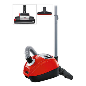 Bagged Vacuum Cleaner BOSCH BGL4ZOOO 5 L 850W Red