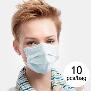 3 Layer Disposable Surgical Mask IIR JDM-001 DeerRiver Luxi (Pack of 10)