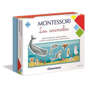 Educational Game Montessori Los Animales Clementoni (ES) (7 x 23 x 18 cm)