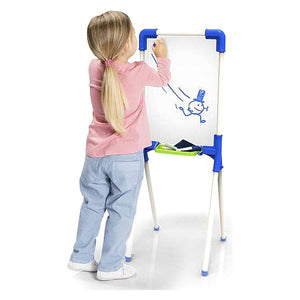 2 in 1 Board Paint & Learn Chicos (12 pcs) (37 x 32 x 85 cm)