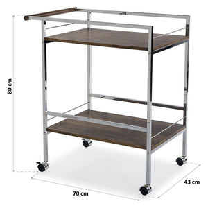Kitchen Trolley MDF Wood (43 x 80 x 70 cm)
