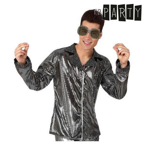 Adult-sized Jacket Disco Shine Silver