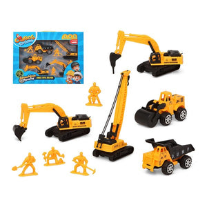 Construction Vehicles Yellow 119398 (9 Pcs)