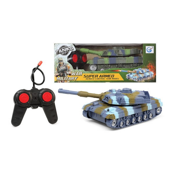 Remote-Controlled Vehicle Super Tank