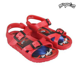 Beach Sandals Lady Bug 73062 Red