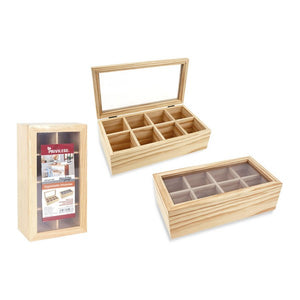 Box for Infusions Privilege Wood (30 X 16 x 9 cm)