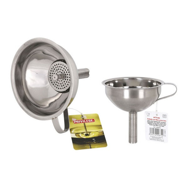 Funnel with Filter Privilege Stainless steel