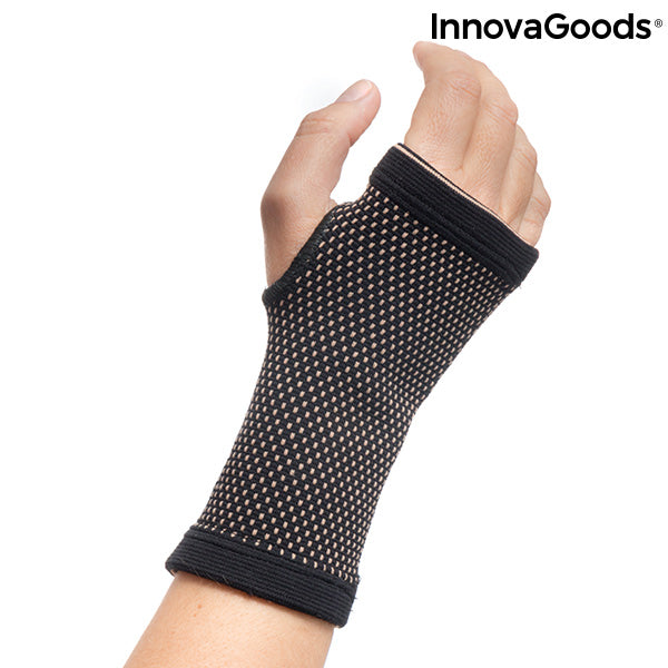 Wristband with Copper Wire and Bamboo Charcoal Wristcare InnovaGoods