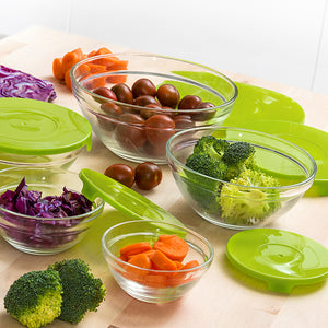 Set of 5 lunch boxes Glass Eh