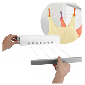 Folding clothes line Retractable Roll-up