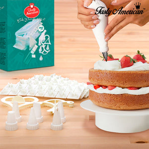 Tasty American Cake Decoration Kit (100 pieces)