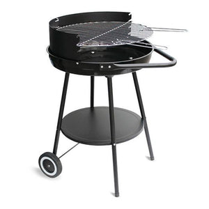 Coal Barbecue with Wheels Algon Black (ø 56 cm)