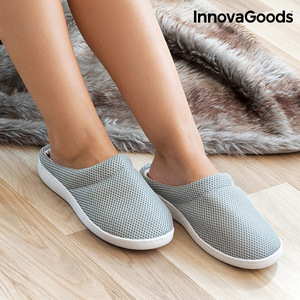 InnovaGoods Comfort Bamboo Gel Slippers