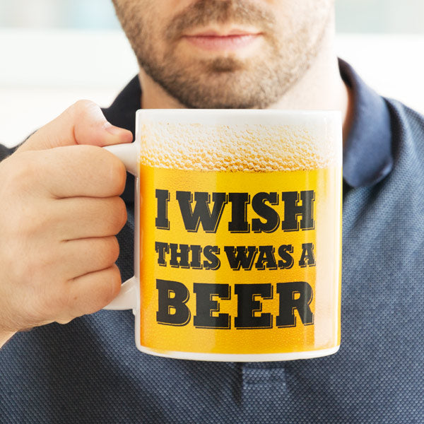 I Wish This Was a Beer XL Mug