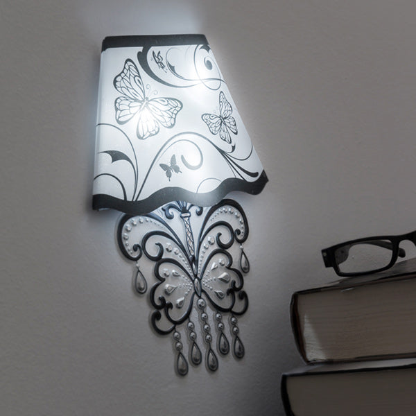 Wall Sticker with LED Butterfly