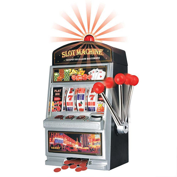 Th3 Party Slot Machine Piggy Bank