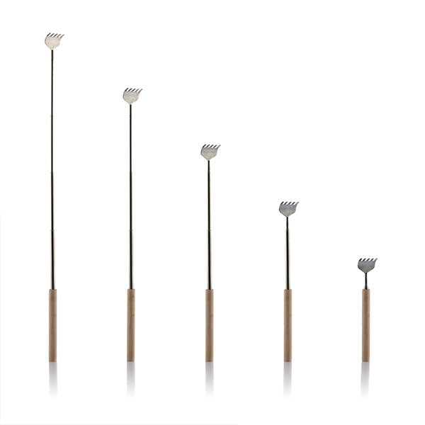 Extendable Back Scratcher with Wooden Handle