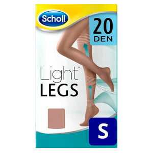 Dr Scholl 20 Den Natural Light compression stockings - S