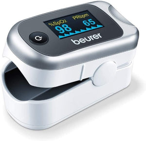 Oxymeter with Pulse Beurer PO40 White/Grey (Refurbished A+)