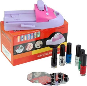 Printer Gcocl Nail Colors nail polish (Refurbished A+)
