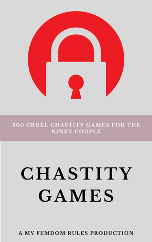 Chastity Games Book for keyholders