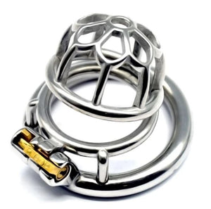 metal chastity device