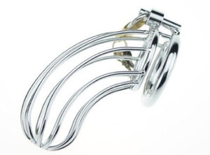 metal chastity cage for female led relationships