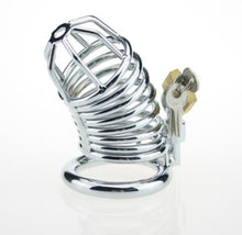 Load image into Gallery viewer, stainless steel chastity cage