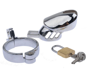 metal male chastity cage
