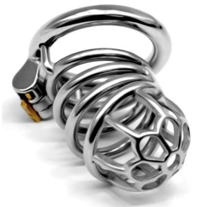 male chastity cage metal