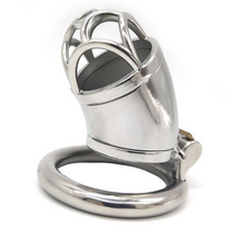 Load image into Gallery viewer, Metal Chastity Cage For Men