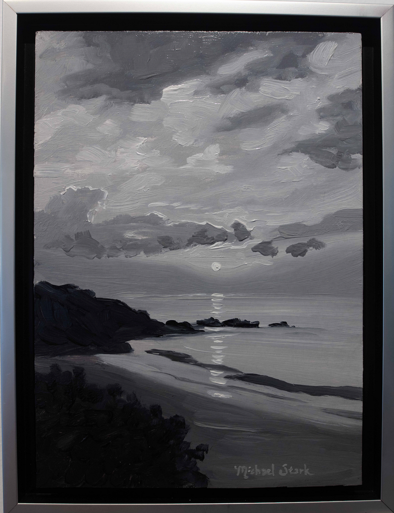 Four Seasons Sunset, Study in Black and White