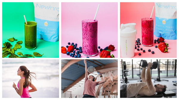Newtrition Co Australian Plant Based Protein Powder Supplement makes very smooth shakes or smoothies