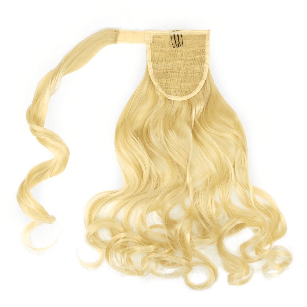 Clip-In Wrap Ponytail Curly - Blonde Shade 613 22""