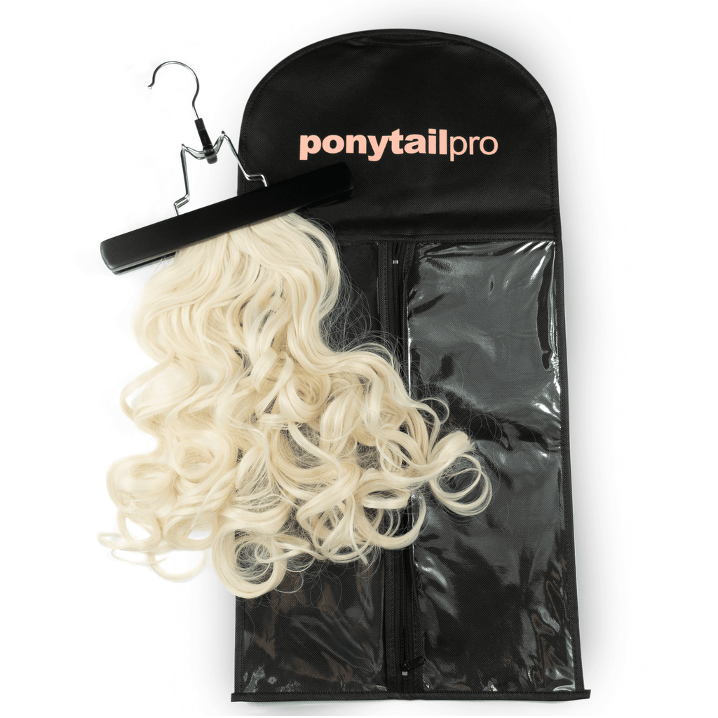 Hair Extension Bag & Hanger