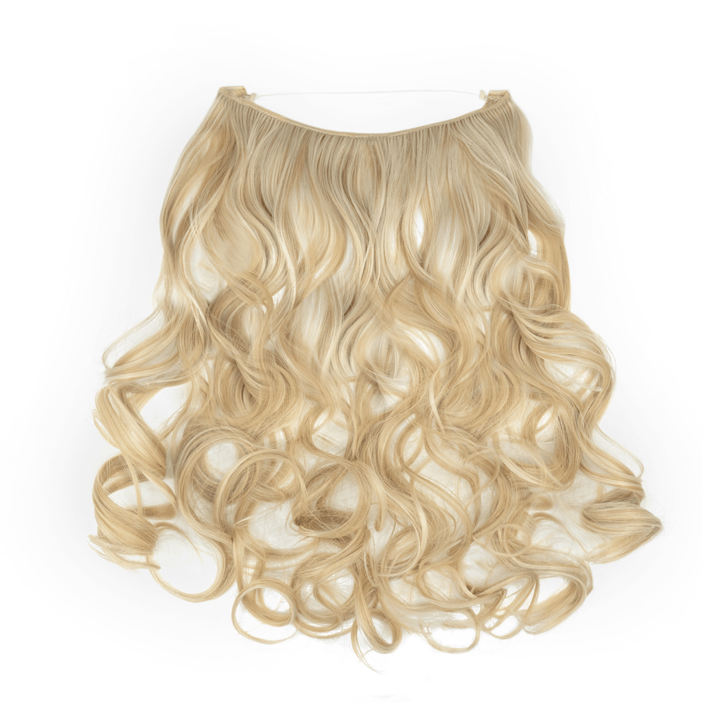 CURLY HALO - BLONDE SHADE F22/613 24""