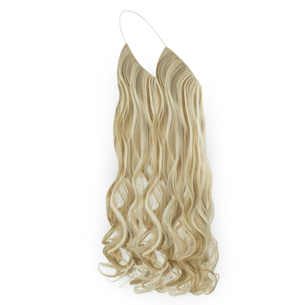 CURLY HALO - BLONDE SHADE F24/613 24""