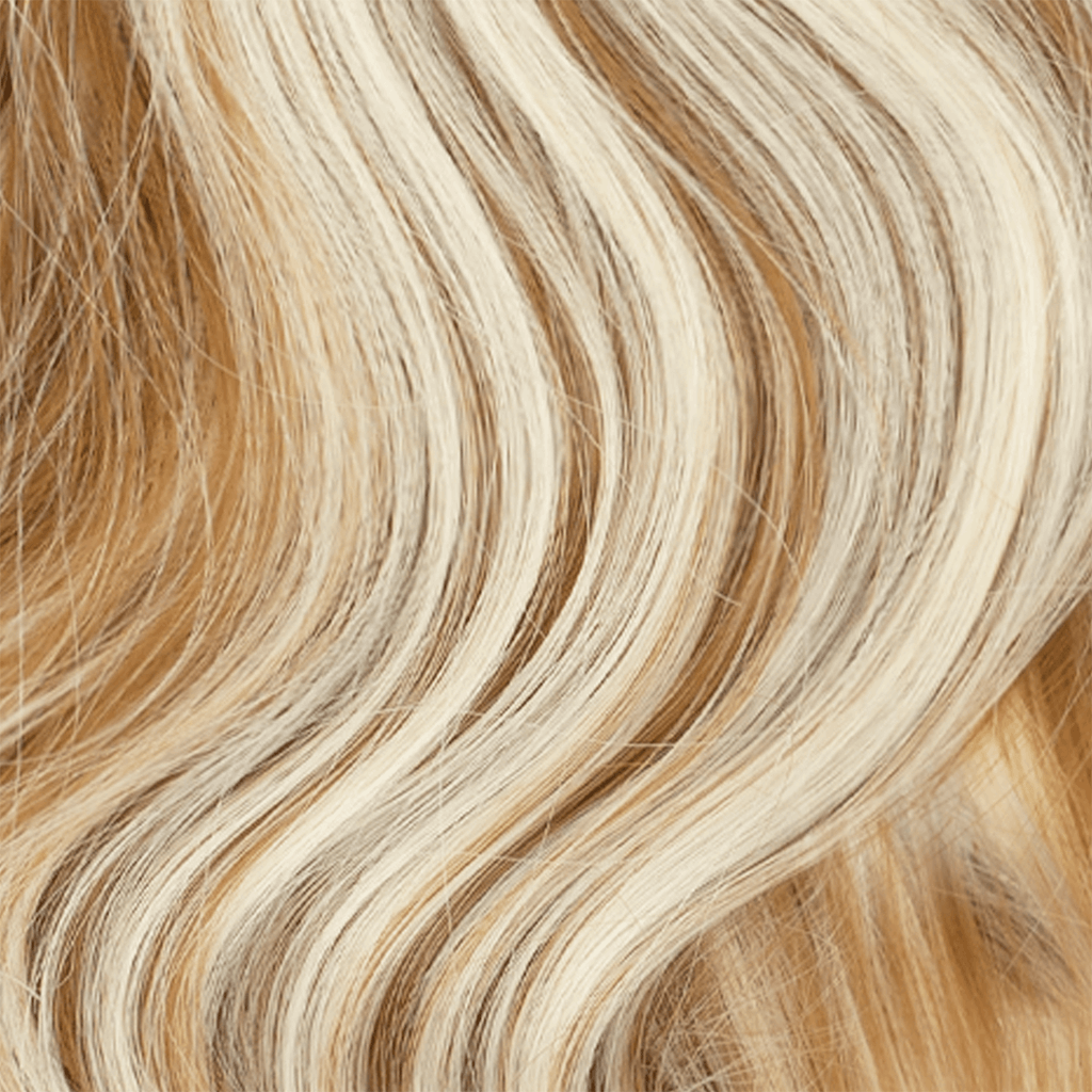 Clip-In Wrap Ponytail Curly - Blonde Shade F27/613 22""