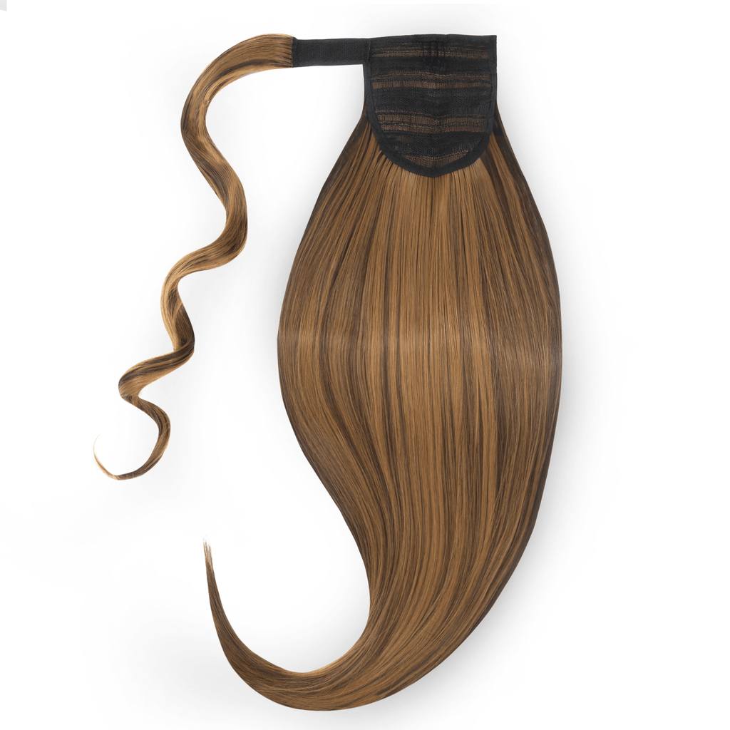 Clip-In Ponytail - Brown Shade F4/27 22""