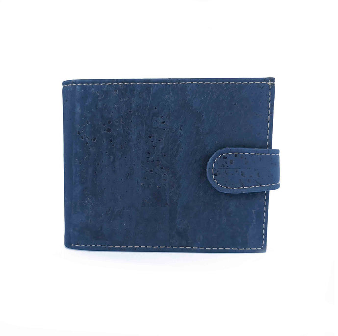 Tri-Fold Cork Wallets For Men - Various Colours