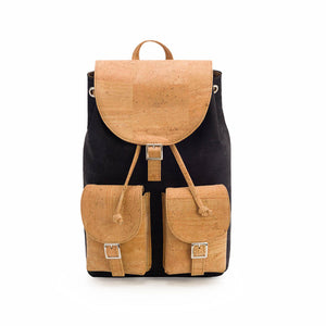 Cork Backpack With Pockets