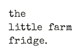 the little farm fridge