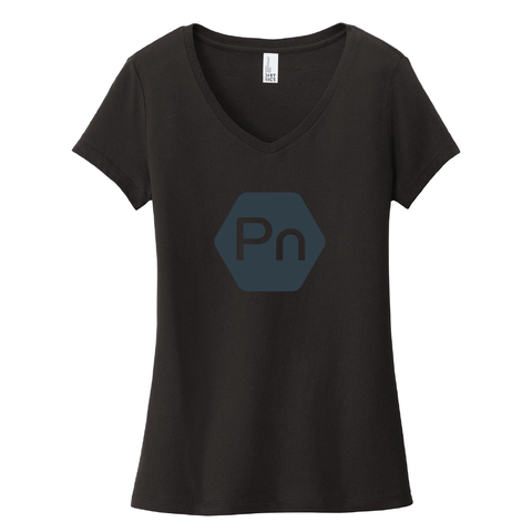 "Women's ""Large PN Logo"" V-Neck Tee"