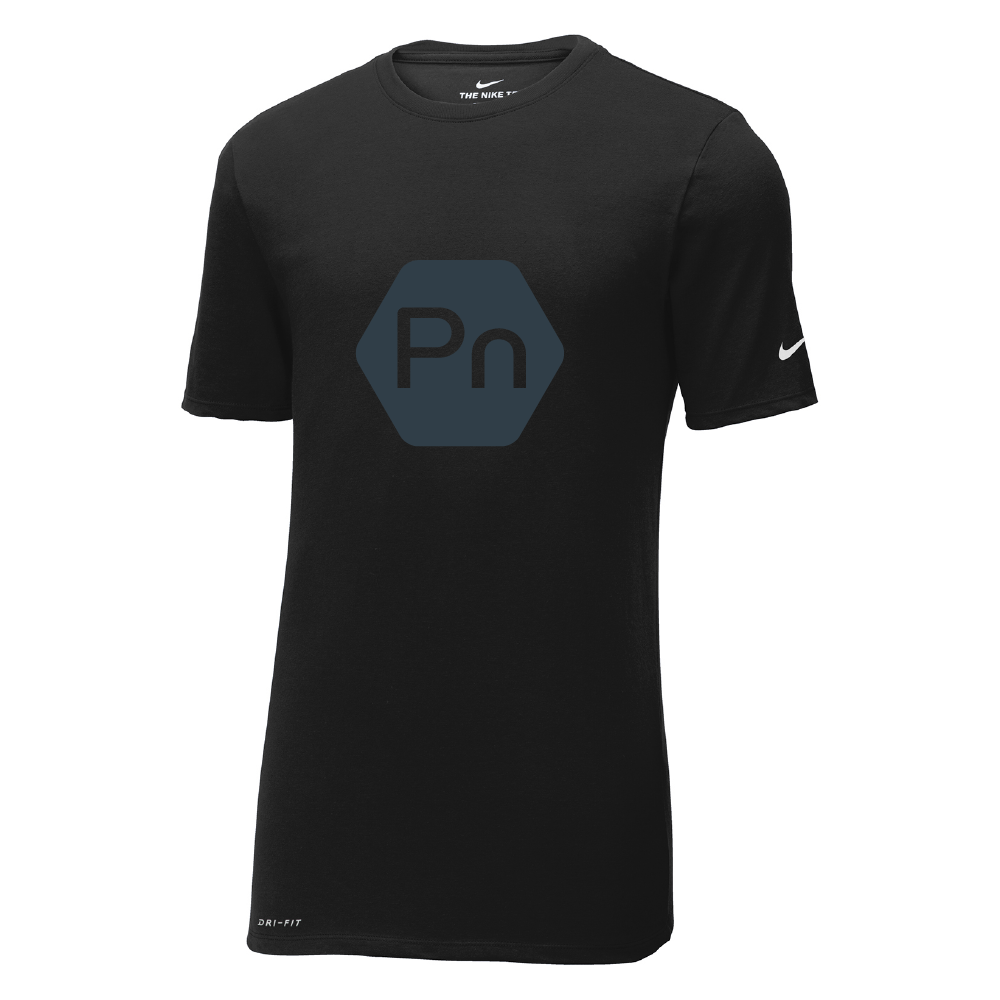 "Men's ""Large PN Logo"" Nike Dri-Fit Crew Tee"