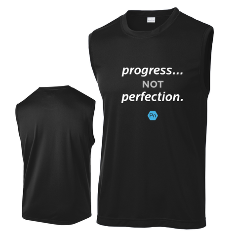 "Men's PN ""Progress not Perfection."" Tank Top"