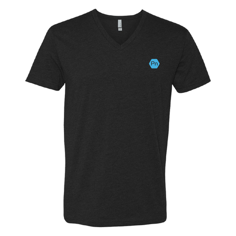 "Men's ""PN Logo"" V-Neck Tee"