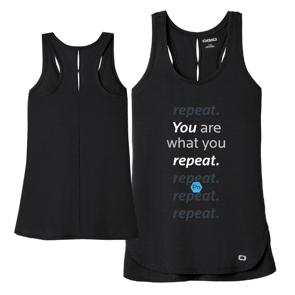 "Women's PN ""You are what you repeat."" Tank Top"