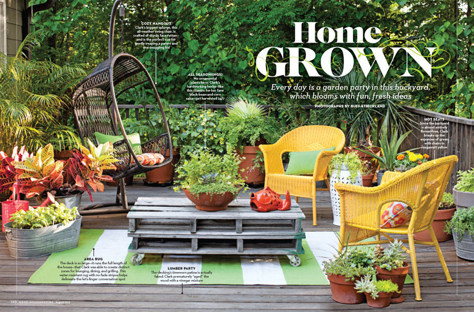 Good Housekeeping Backyard Feature