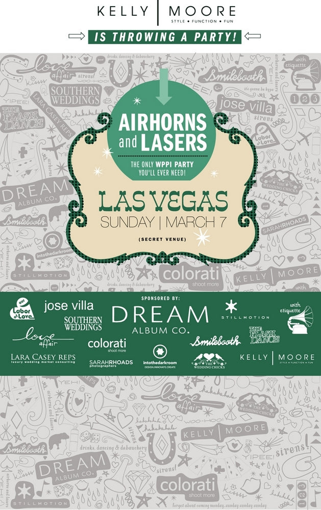 Airhorns and Lasers Party at WPPI!